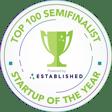 Top 100 Semifinalist - Round Badge - Light